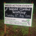 Free Kiwi Link Weed Control Workshop – Sunday August 12th