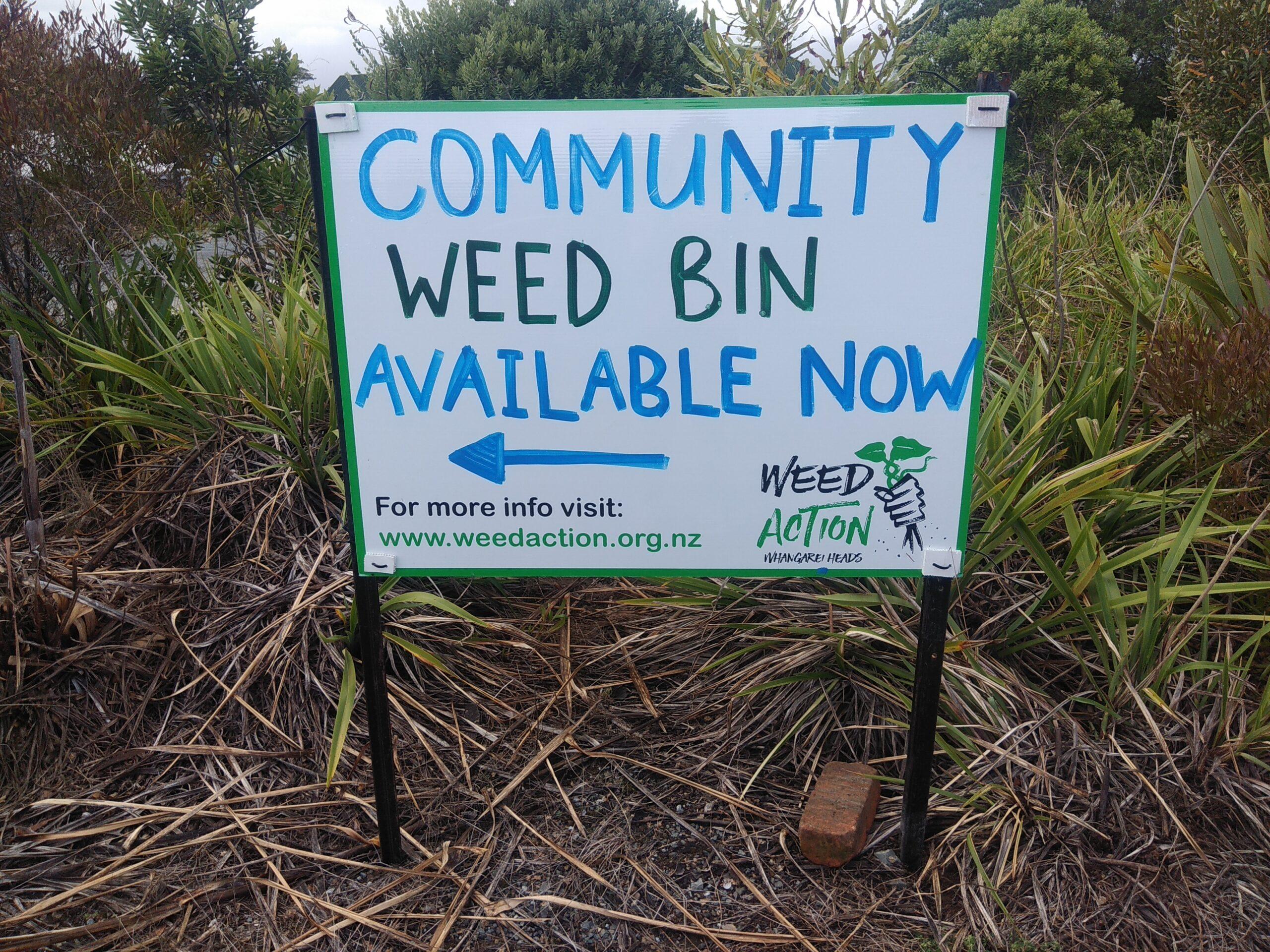 FREE Invasive Weed Disposal - Community Weed Amnesty